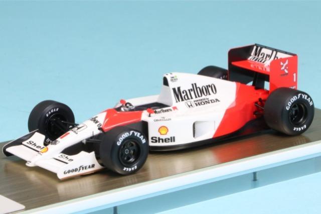 アイドロン 1/43 マクラーレン ホンダ MP4/6 日本GP 1991 No.1 A.セナ ワールドチャンピオン デカール加工品 FE016AS