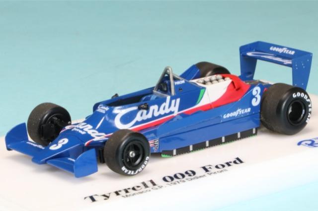 ロムファクトリー 1/43 ティレル 009 モナコGP 1979 D.ピローニ RFTMG002IK