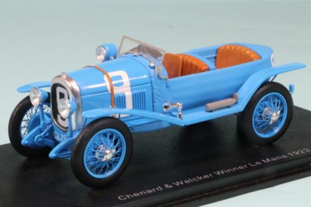 スパーク 1/43 シュナール ワルケル ルマン 1923 Winner No.9 43LM23