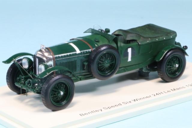 スパーク 1/43 ベントレー スピード6 ルマン 1929 Winner No.1 43LM29