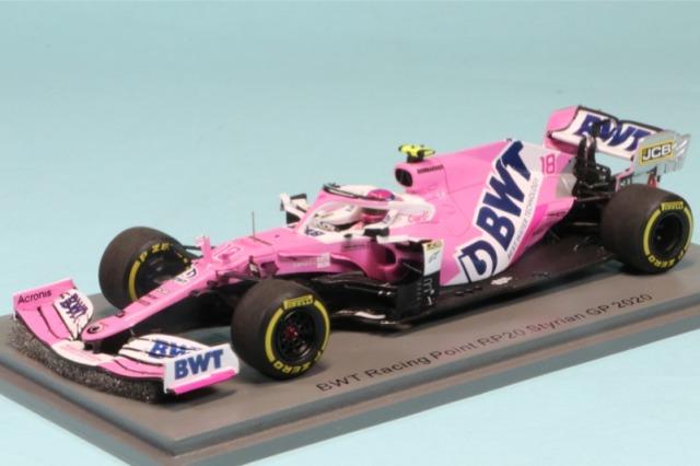 スパーク 1/43 レーシングポイント RP20 シュタイアーマルク(オーストリア2) GP 2020 L.ストール S6475