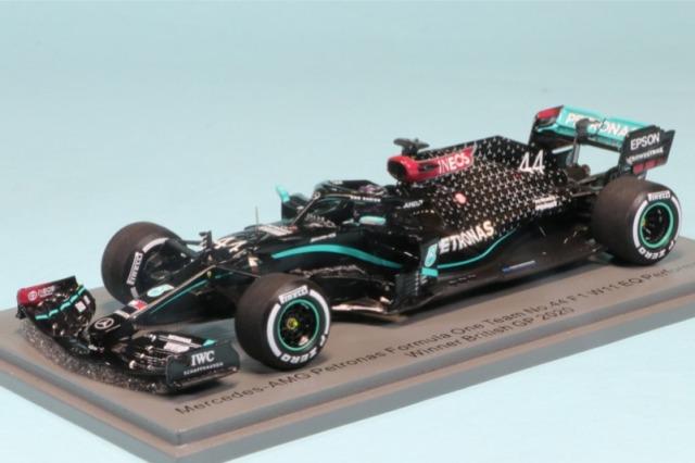 スパーク 1/43 メルセデス AMG F1 W11 EQ パフォーマンス シルバーストンGP 2020 Winner L.ハミルトン S6477