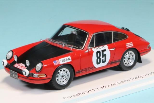 スパーク 1/43 ポルシェ 911 T モンテカルロラリー 1969 No.85 S6608