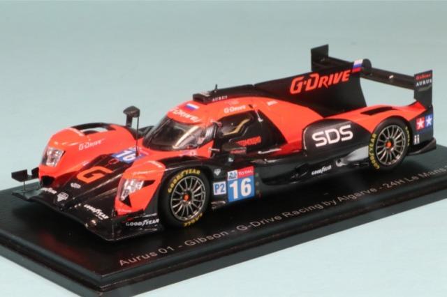 """スパーク 1/43 アウルス 01 ギブソン """"G-Drive Racing By Algarve"""" ルマン 24h 2020 No.16 S7960"""