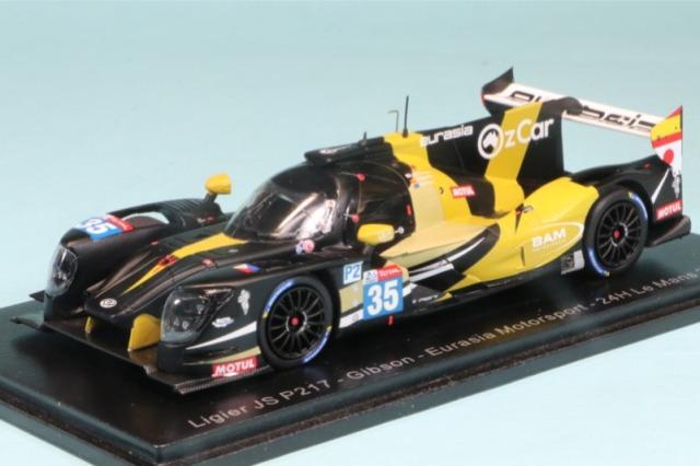 """スパーク 1/43 リジェ JSP217 ギブソン """"Eurasia Motorsport"""" ルマン 24h 2020 No.35 S7975"""