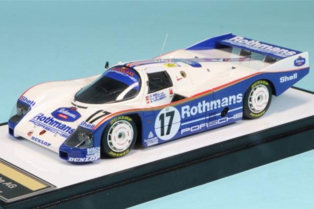 """ヴィジョン 1/43 ポルシェ 962C """"チーム ポルシェ"""" ルマン24時間 1987 NO.17 ウィナー デカール加工品 VM046AS"""