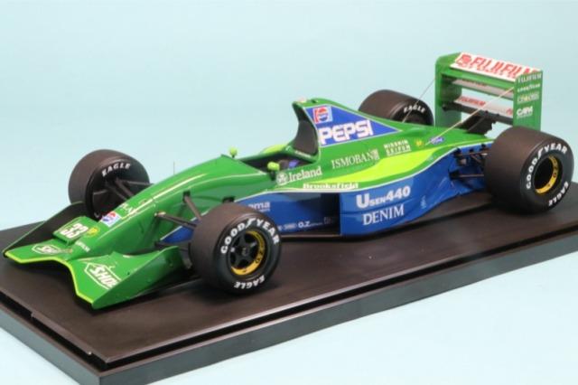[受注製作見本] ロムファクトリー 1/20 ジョーダン 191 日本GP 1991 A.de.チェザリス RF20032