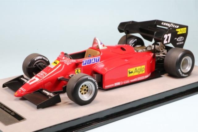 テクノモデル 1/18 フェラーリ 126 C4-M2 ヨーロッパGP 1984 M.アルボレート TM18-122B TM18-122B