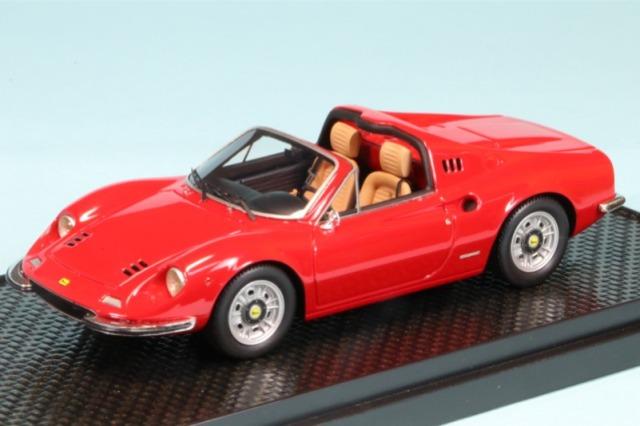 BBR 1/43 ディノ 246 GTS レッド 1972 限定500台 BBRC54A