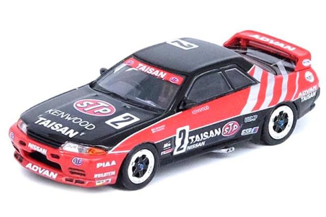 """[予約] イノモデル 1/64 ニッサン スカイライン GT-R R32 """"TAISAN"""" JTC 1992 No.2 IN64-R32-TS92"""