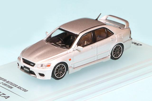 イノモデル 1/64 トヨタ アルテッツァ RS200 Z-Edition シルバー (交換用ホイール) IN64-RS200-SL