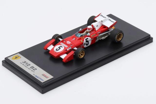 ルックスマート 1/43 フェラーリ 312 B2 イギリスGP 1971 C.レガッツォーニ LSRC027 LSRC027
