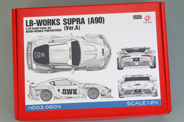 [予約] ホビーデザイン 1/24 トランスキット LB ワークス スープラ A90 Ver.A JD03-0604