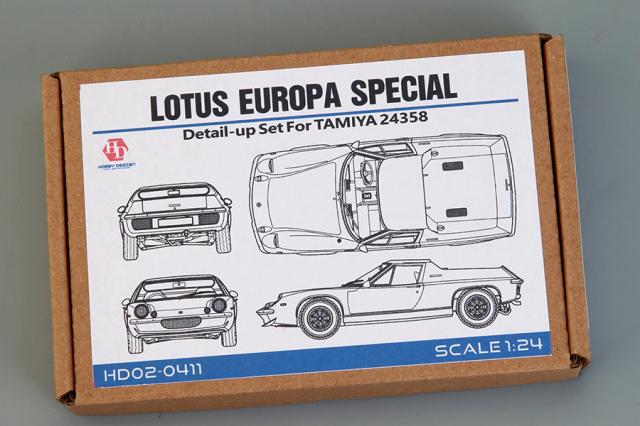 ホビーデザイン 1/24 ロータス ヨーロッパ ディティールアップパーツ (タミヤ対応) HD02-0411