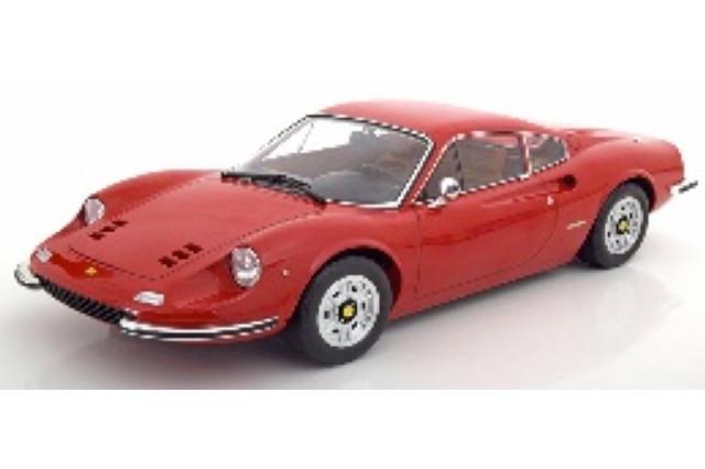 [予約] KKスケール 1/12 フェラーリ ディノ 246GT 1973 レッド KKDC120021