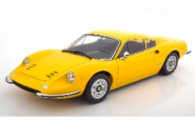 [予約] KKスケール 1/12 フェラーリ ディノ 246GT 1973 イエロー KKDC120022