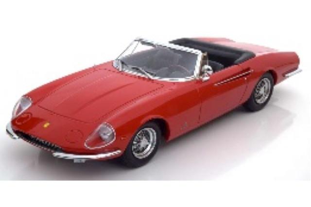 [予約] KKスケール 1/18 フェラーリ 365 カリフォルニア 1966 レッド KKDC180051