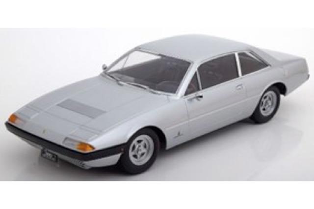 [予約] KKスケール 1/18 フェラーリ 365 GT4 2+2 1972 シルバー KKDC180163