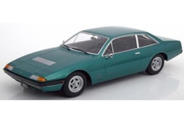 [予約] KKスケール 1/18 フェラーリ 365 GT4 2+2 1972 グリーンメタリック KKDC180164