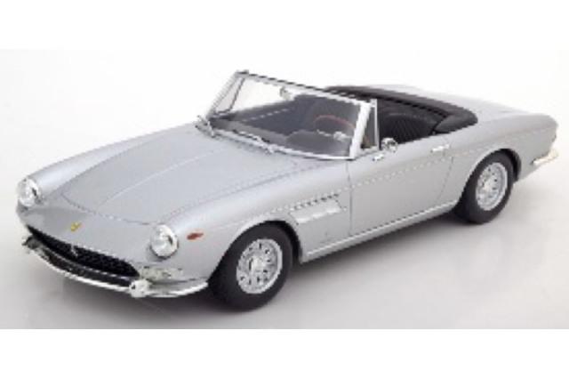 [予約] KKスケール 1/18 フェラーリ 275 GTS ピニンファリーナ スパイダー 1964 アロイリム シルバー KKDC180242