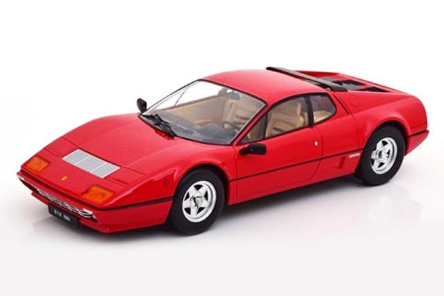 [予約] KKスケール 1/18 フェラーリ 512 BBi 1981 レッド KKDC180541
