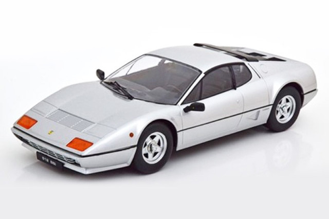 [予約] KKスケール 1/18 フェラーリ 512 BBi 1981 シルバー KKDC180542