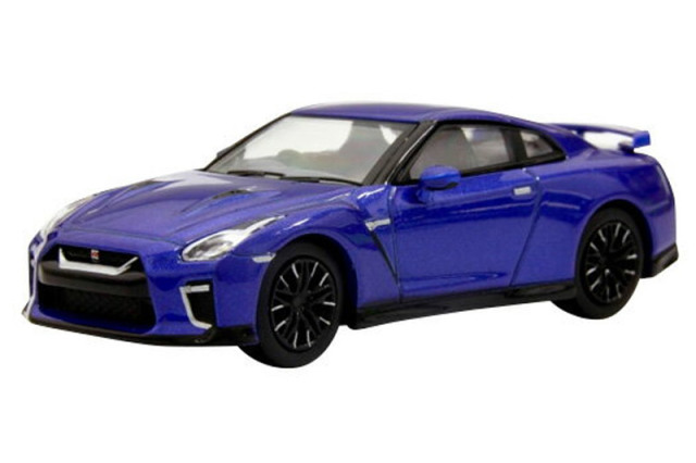 [予約] 京商 1/64 ニッサン GT-R ブルー KS07067BL