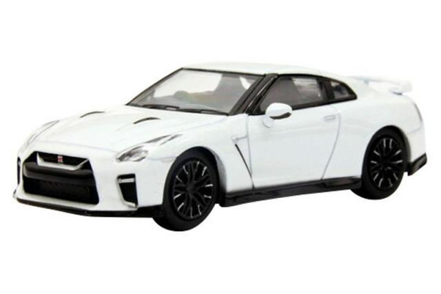 [予約] 京商 1/64 ニッサン GT-R ホワイト KS07067W