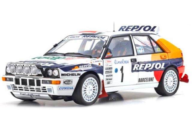 [予約] 京商 1/18 ランチア デルタ HF インテグラーレ モンテカルロラリー 1993 No.1 KS08348C