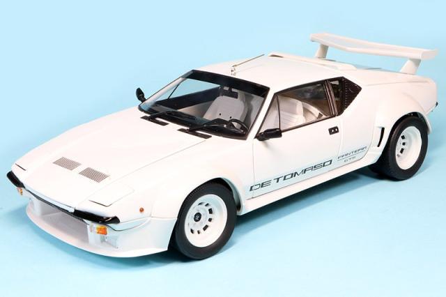 京商 1/18 デ トマソ パンテーラ GT5 ホワイト KS08854W
