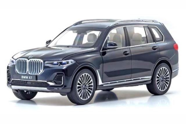 [予約] 京商 1/18 BMW X7 G07 カーボンブラック KS08951CBK