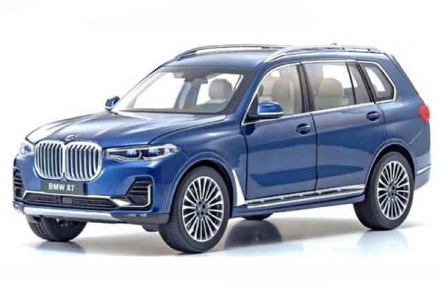 [予約] 京商 1/18 BMW X7 G07 ファイトニックブルー KS08951PBL