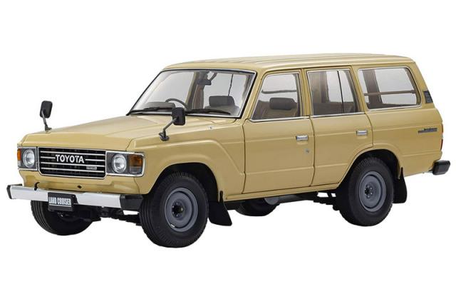 [再生産] 京商 1/18 トヨタ ランドクルーザー 60 トラディショナルベージュ KS08956BE