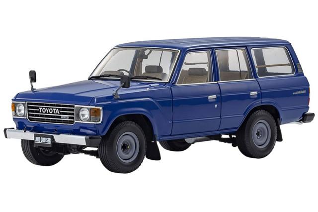 [予約] 京商 1/18 トヨタ ランドクルーザー 60 フィールライクブルー KS08956BL