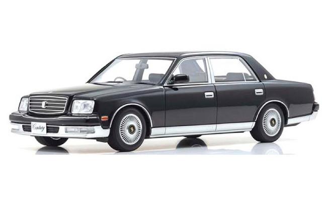 [予約] 京商 1/18 トヨタ センチュリー 神威 ドアミラーVer. ブラック KSR18002BK2
