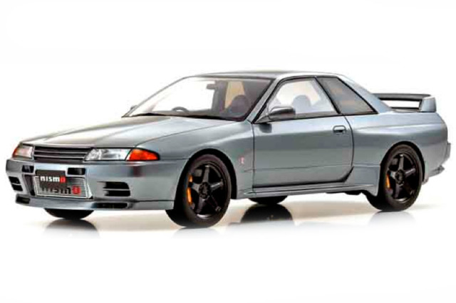 [予約] 京商 1/18 ニッサン スカイライン GT-R R32 ニスモ グランドツーリングカー グレー KSR18047GR