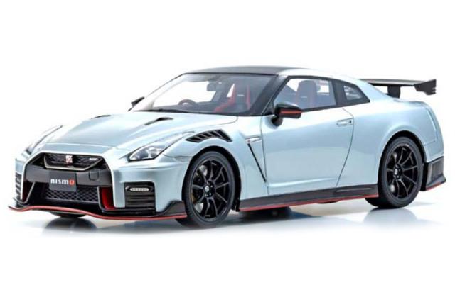 [予約] 京商 1/18 ニッサン GT-R ニスモ 2020 シルバー KSR18048S