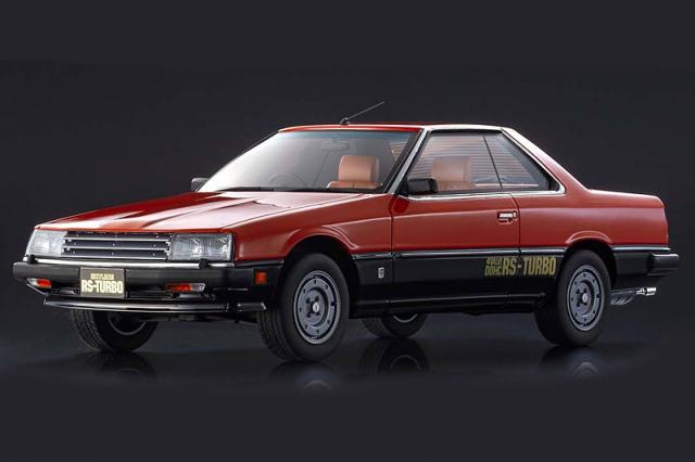 [予約] 京商 1/18 ニッサン スカイライン 2000 ターボ RS レッド KSR18051R
