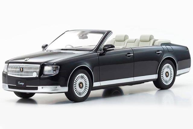 [予約] 京商 1/18 トヨタ センチュリー オープン ブラック KSR18052BK