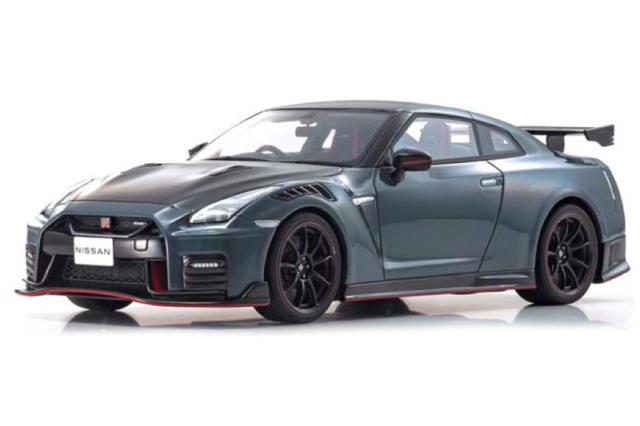 [予約] 京商 1/18 ニッサン GT-R ニスモ 2022 グレー KSR18054GR