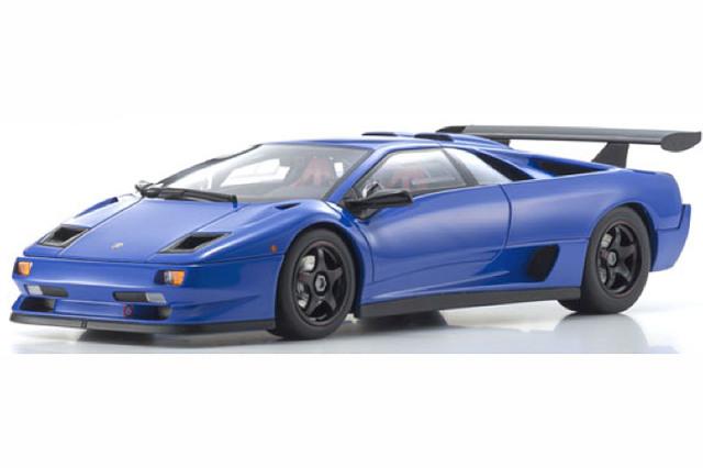 [予約] 京商 1/18 ランボルギーニ ディアブロ GTR ブルー KSR18509BL