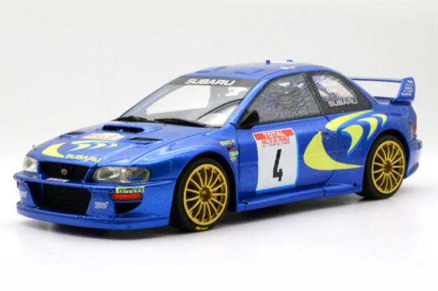 [予約] one model 1/18 スバル インプレッサ WRC No.4 LIT-001