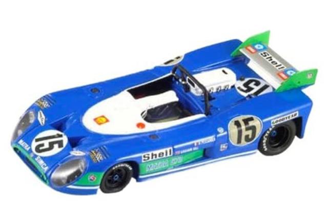 イクソ 1/43 マトラ MS670 ルマン 24h 1972 Winner No.15 LM1972