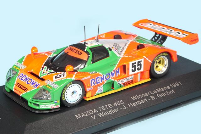 イクソ 1/43 マツダ 787B ルマン 24h 1991 Winner No.55 LM1991
