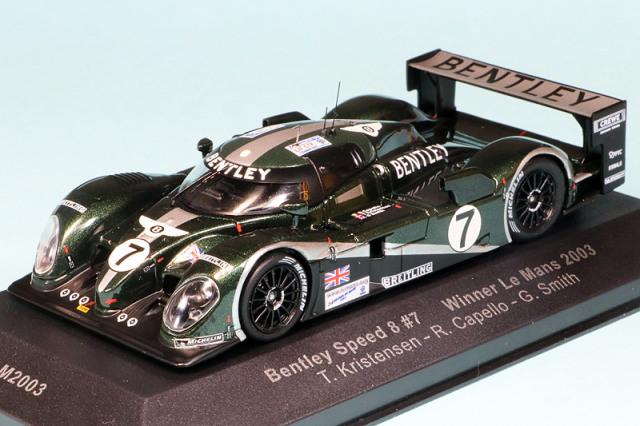 イクソ 1/43 ベントレー スピード 8 ルマン 24h 2003 Winner No.7 LM2003
