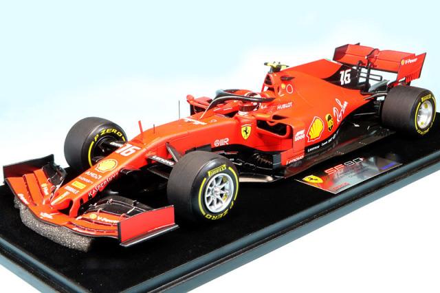 """ルックスマート 1/18 フェラーリ SF90 中国GP 2019 C.ルクレール """"1000th F1 Grand Prix"""" LS18F1020"""