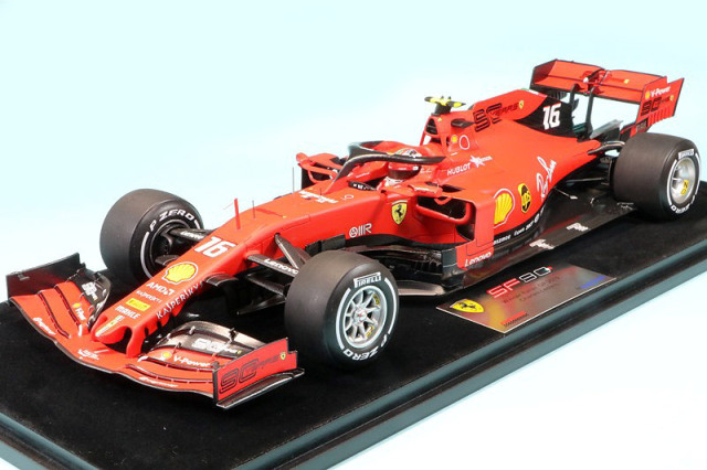 ルックスマート 1/18 フェラーリ SF90 イタリアGP 2019 Winner C.ルクレール LS18F1024