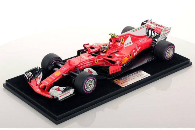 [再入荷] ルックスマート 1/18 スクーデリア フェラーリ SF70H オーストラリアGP 2017 4th K.ライコネン LS18F108