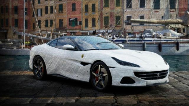[予約] ルックスマート 1/43 フェラーリ ポルトフィーノ M ホワイト LS524E