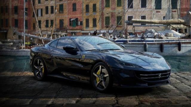 [予約] ルックスマート 1/43 フェラーリ ポルトフィーノ M ブルー LS524F